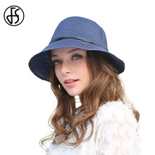 FS 2017 Women Summer Straw Hat Wide Big Brim Beach Sun Visor Elegant Bow Rope Floppy Casual Sun Cap Chapeu Feminino(China)