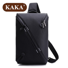 KAKA Fashion 2017 New Technology Chest Pack Male 9.7 Inch Tablet Bag Multiple Layers Waterproof Oxford Casual Men Chest Bag Z738