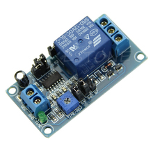 DC 12V Delay Relay Delay Turn on / Delay Turn off Switch Module with Timer