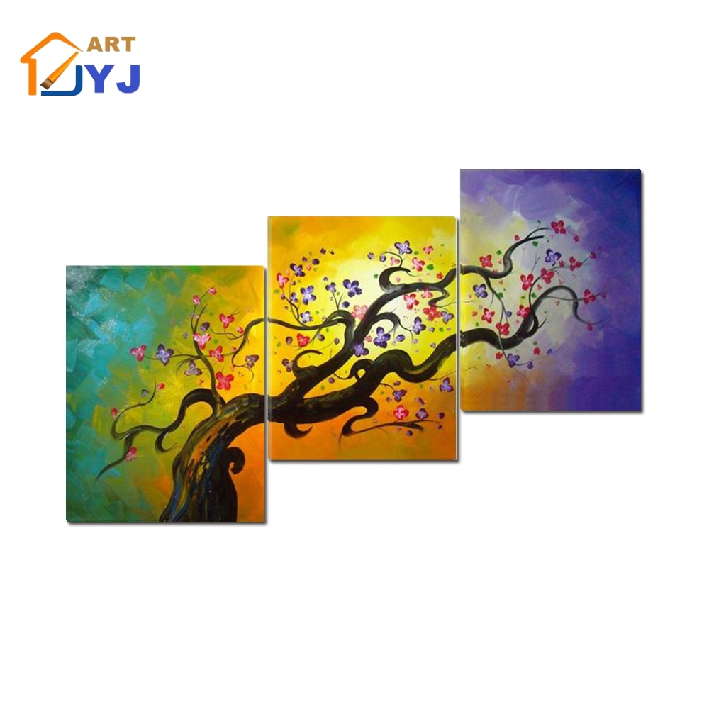 4 Pieces Poster Home Decor Oil Painting on Canvas Wall Art Gift HD ...