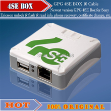 The newest GPG 4SE Box for Sony Ericsson unlock & flash & read info, phone recovery, certificate change, etc with 9cables