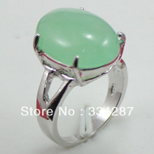 NEW fancy  green jades ring
