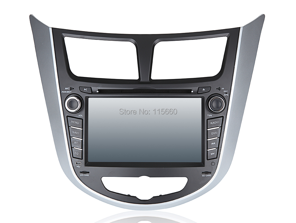 Car DVD GPS for Hyunda Verna-Solaris-Accent A1