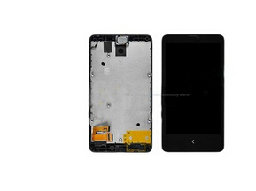 Original For nokia x lumia x LCD Display+Touch Screen Digitizer +frame Assembly<br><br>Aliexpress