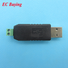 USB to RS485/TTL Converter Adapter Support Win7/8 XP Vista Linux Mac OS WinCE5.0 RS 485 RS-485 Black(China)