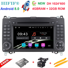 Android 8.0For Mercedes Benz Sprinter B200 W209 W169 W169 b-klasse W245 B170 Vito W639 Auto DVD-player Radio GPS multimedia stereo(China)