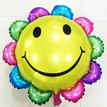 60*60cm Cute balloon sunflower balloons inflatable foil balloons birthday party Valentine's day decoration gifts Classic toys