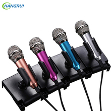Mobile phone Mini Karaoke Microphones wired Control Condenser Microphone Voice Recorder For iphone 6 xiaomi mi5 mi4 Smartphone