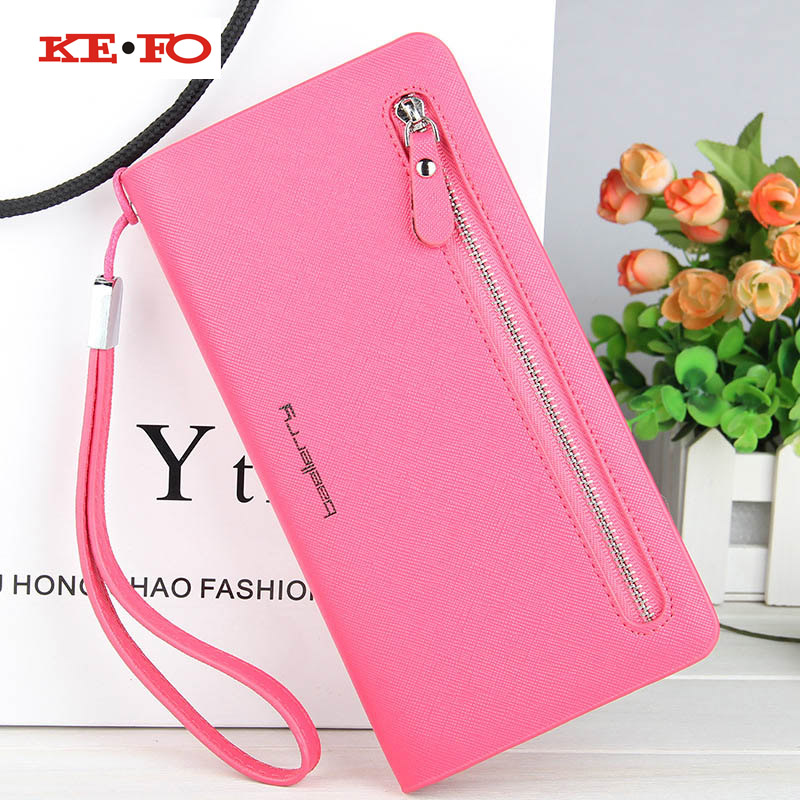 Luxury Women Wallet Purse Phone Pocket Wallet Case Elephone S2 S3 M2 M3 P6000 P7000 P8000 P9000 Vowney Universal Cover Coque