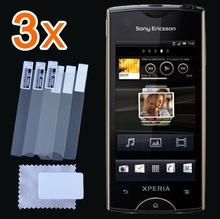 Retail Packing New 3x CLEAR LCD Screen Protector Guard Protective Film Cover For Sony Xperia Ray