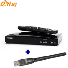 2017 newest Open box V8s Plus Satellite Receiver Support 2x USB USB Wifi 3G modem Ali3511 Solution WEB TV Biss Key DLNA TV Box(China)