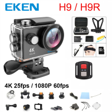 New 100% Original EKEN H9 / H9R action camera 4K wifi Ultra HD 1080p 60fps 170D 30M waterproof mini sports camera 2.0' Screen