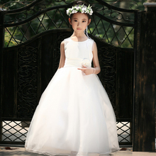 fairy tale world princess costumes beauty lace girls dress flower girl wedding dress children's kids clothes infant party dress