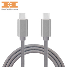 USB C CABLE USB3.1 Type C to USB-C Cable male to male for mac book,mate book,charger for Nexus 5X/6P,Lumia 950/950XL,Xiao 4C(China)