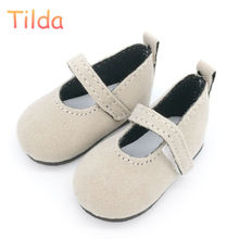 Tilda 6cm Mini Shoes For Paola Reina Doll,Fashion Mini Toy Shoes for Corolle 1/4 Bjd Doll Footwear Shoes for Dolls Accessories(China)