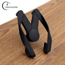 2017 M Car Phone Holder for iPhone Samsung Air Vent Mount Automobile Stand Holder Vehicle phone holder For 4-6 inch Smartphone(China)