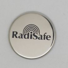 10 x Radisafe Anti Radiation cellphone sticker Energy Saver EMF Protection stainless steel Mobile Phone RadiSafe sticker(China)