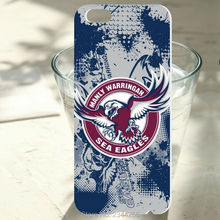 1PCS For iphone 7 6 6s plus 5 5s 5c 4s SE NRL Manly Sea Eagles case cover hard pc phone case For samsung S7 S6 S5 edge plus