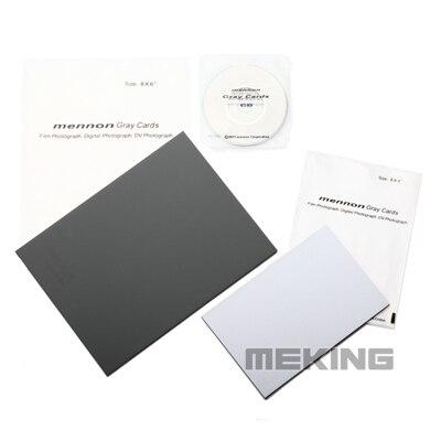 mennon gray grey card white balance 18% l size for