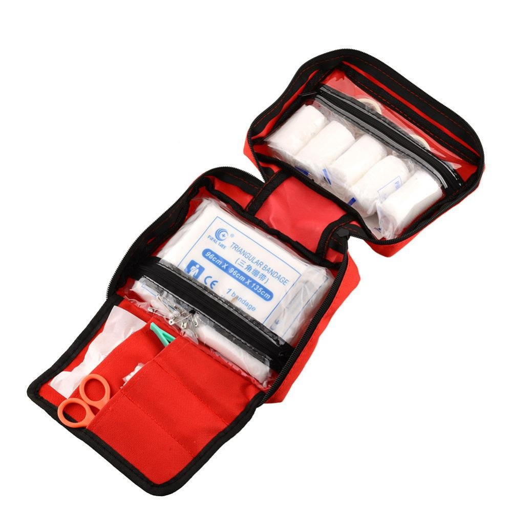 Outdoor Sports Travel Camping Home Medical Emergency Survival First Aid kit Bag<br><br>Aliexpress