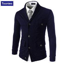 Men's Casual Jacket Pocket Cotton Blend Single Breasted Full Sleeve Regular Length Soft Comfortable Male Tops Plus Size M-2XL