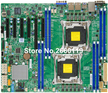 Server motherboard for SuperMicro X10DRL-i LGA-2011 DDR4 system mainboard fully tested