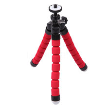 2017 New portable Octopus Mini Tripod Flexible Supports Stand Spong For GOPRO Mobile Phones Cameras small lightweight