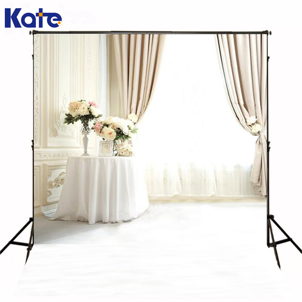Photography Backdrops 6.5*5Ft(200*150Cm) Fondos Estudio Fotografico Vase Curtain Windows Fundos Fotograficos<br>