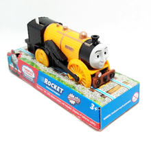 T0244 Electric Thomas and friend Rocket Trackmaster engine Motorized train Chinldren child kids plastic toys gift with package