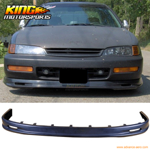 For 1996 1997 Honda Accord Coupe Sedan 4Cyl MUG Urethane PU Front Bumper Lip Spoiler