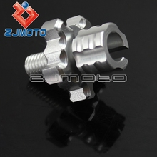 Motorcycle Clutch Brake Cable Wire Adjuster 8mm Screw M8 Thread Motorcycle Bolts For Honda CBR500R CB500F CB500X CB600F HORNET(China)