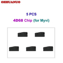 5 PCS, 4D68 Chip Carbon Auto Transponder Chip Ceramic Car Chip Blank Key Chip For Daihatsu and for Myvi(China)