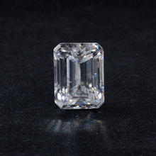 Synthetic diamonds EF white 8*12mm lab-created elongated Emeralde cut moissanites loose gems stones for jewelry making