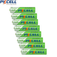 8Pcs PKCELL NIMH Battery 1.2V AAA Rechargeable precharged batteries  850mAh over 1200 times cycles for camera ,toys,ect