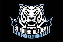 Edinburg Academy White Bengal Tigers 3ft x 5ft Polyester Banner Flying Size No.4 144* 96cm QingQing Flag(China)