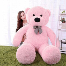 Giant Large Big White/Light Brown/Dark Brown/Pink Plush Teddy Bear 100CM Teddy Bear Plush Toy New