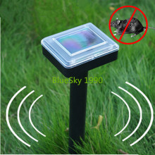 Energia Solar Ultrasonic Pest Repeller Chaser Cobra Toupeira Rato Ratos Roedor Gopher Repeller para Quintal Jardim Campo 41and Grassl(China)