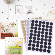 Nordic Style Round Dots Kids Room Wall Sticker Home Decor Living Room Wall Decals(China)