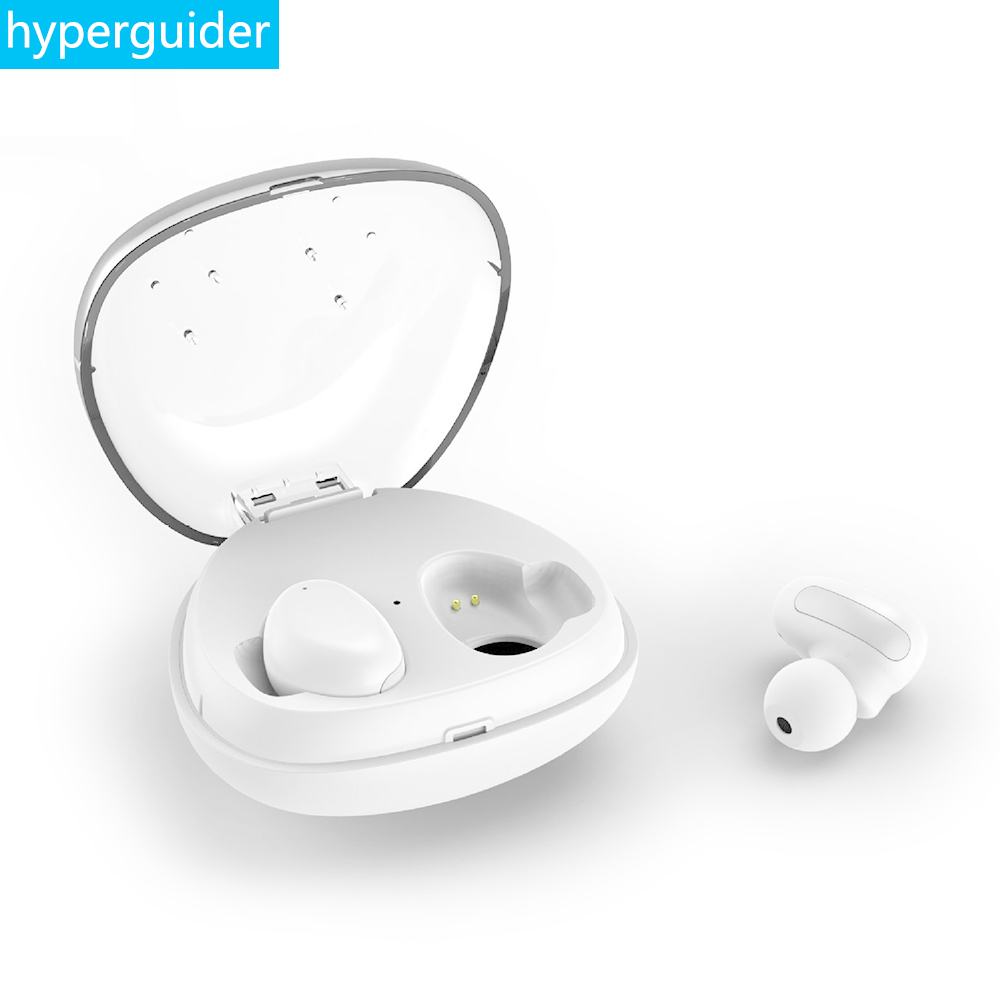 hyperguider Wireless Earbuds Bluetooth 4.2 Waterproof IPX5 Stereo Clear Bass Touch Control TWS Earphone for Meizu Xiaomi iPhone<br>