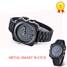 2017 Beautiful fashion design DVR car camera watch vedio picture shooting wristwatch full metal man woman phonewatch for ios(China)
