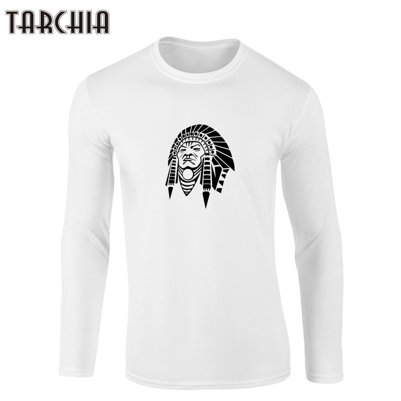 Tarchiia Brand Clothing Indian Style Fashion Long Sleeve T Shirt Men 100 Cotton Shirs Spring Autumn Casual Shirts For In From S