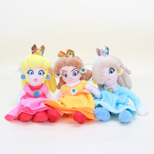 20cm soft Super Mario Bros Plush Princess Peach Daisy Rosalina Soft Stuffed Plush Doll Toys Super Mario chrismas Gift(China)