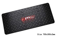msi mouse pad cool 700x300mm gaming mousepad gamer mouse mat High quality pad keyboard computer padmouse laptop play mats(China)