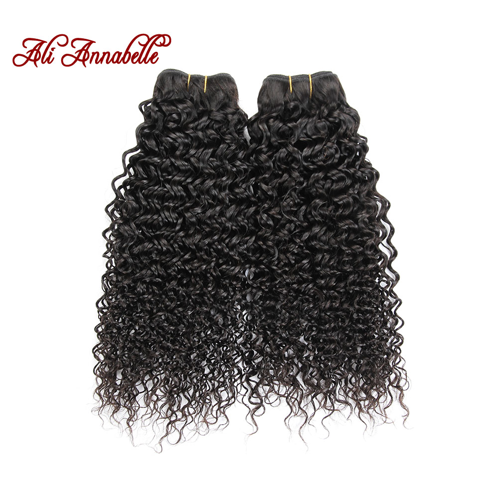 2Bundles 8A Ali Annabelle Hair Brazilian Virgin Hair Kinky Curly Unprocessed Human Hair Extension Curly Hair weave fast delivery<br><br>Aliexpress