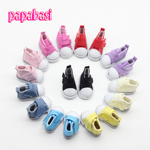 Mix 5pair Canvas Shoes For BJD Doll,Fashion Mini Toy Shoes 1/6 Bjd Shoes Accessories
