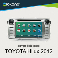 IOKONE Car Video Player For Toyota Hilux 2012 With Radio,Bluetooth,GPS,iPod,Steering Wheel Control