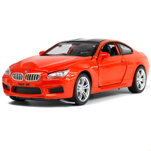 Free Shipping 1:32 M6 Car Models Alloy Diecast Hotwheels Car Model Collection Toys Vehicle for Children toys