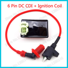 Performance Racing Ignition Coil 6 Pin DC CDI Box For Kymco SYM Vento 50cc 125cc 150cc Engine GY6 Moped Scooter