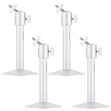 4pcs Metal Wall Ceiling Mount Stand Bracket Camera Bracket for CCTV Security Camera CCTV Accessories(China)