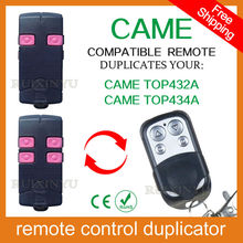 100% copy fixed code Universal RF Remote Control Duplicator for Garage Door (include CAME remotes) CAME TOP432A / CAME TOP434A